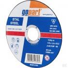 Diskas metalui Gopart 115x1x22