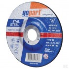 Diskas metalui Gopart, iškilus 125x3x22