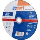 Diskas metalui Gopart,230x2x22