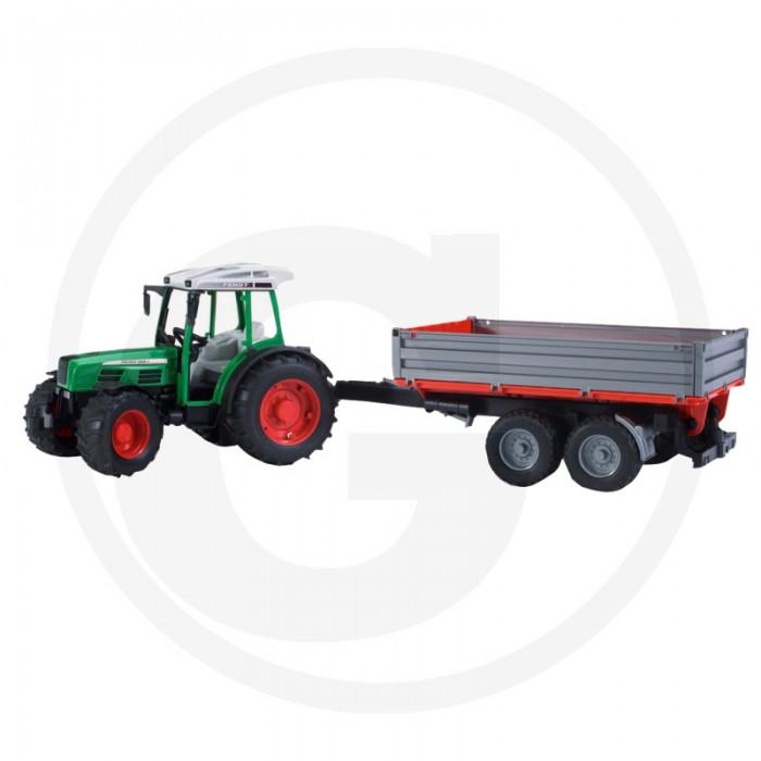 Traktorius Fendt 209 S su priekaba