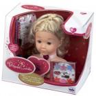 """Lėlės galva """"Princess Coralie"""" su aksesuarais"""