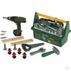 Vaikiška įrankių dėžė su elektriniu atsuktuvu Bosch