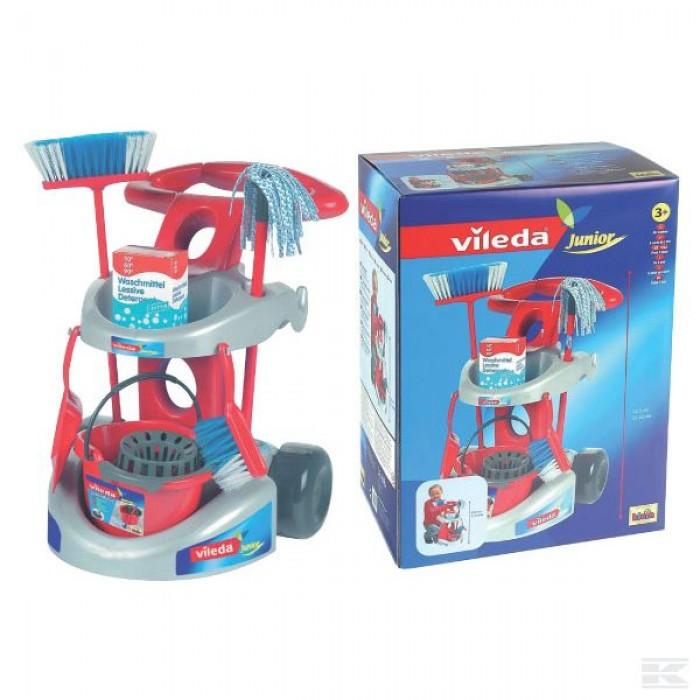 Vaikiškas valymo rinkinys vežimėlyje Vileda
