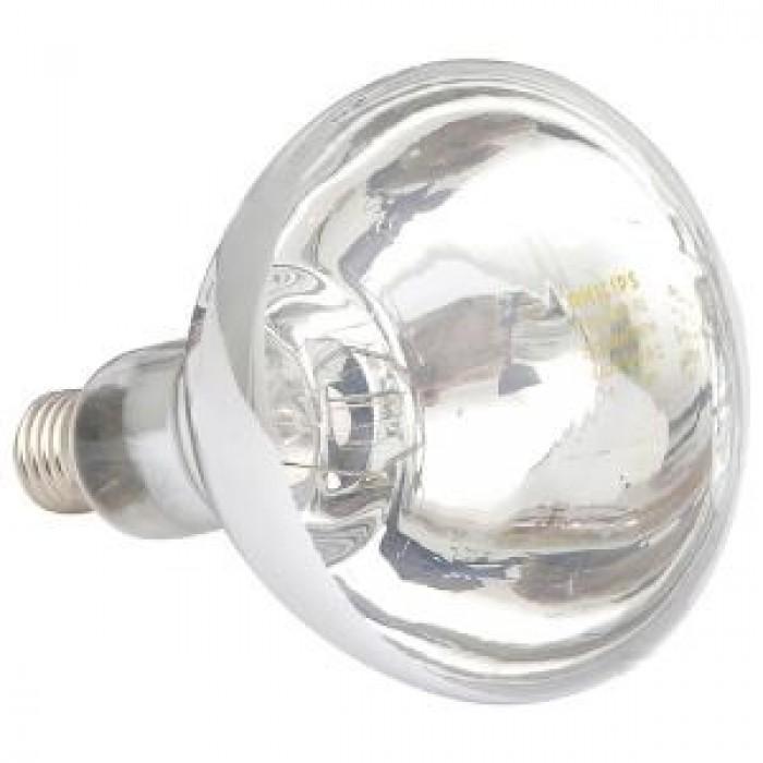 Infraraudonųjų spindulių lempa Philips HardGlass, balta 250 W