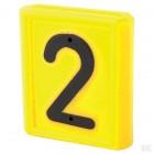 """Skaičius identifikavimo kaklajuostei """"2"""""""