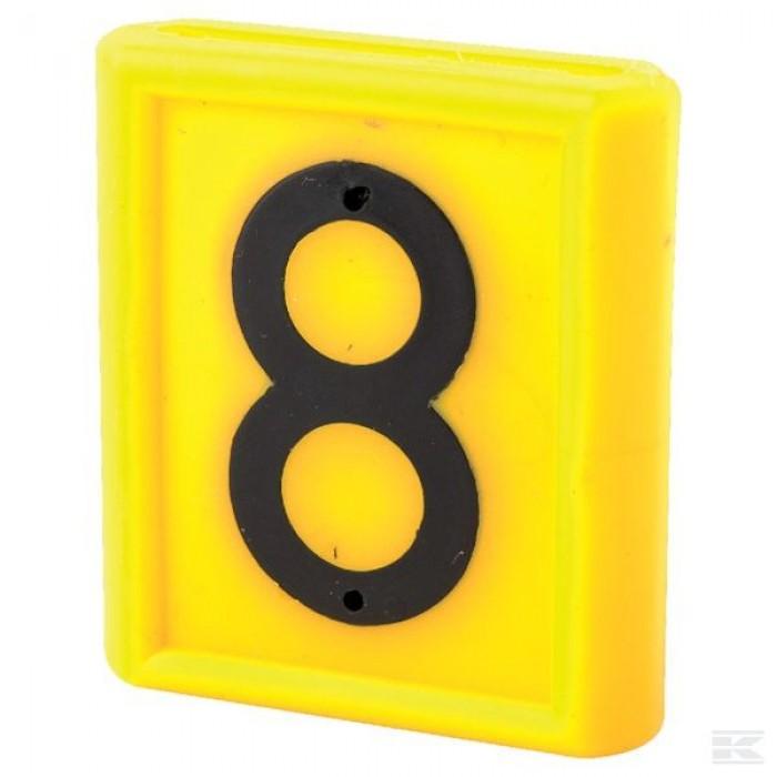 """Skaičius identifikavimo kaklajuostei """"8"""""""