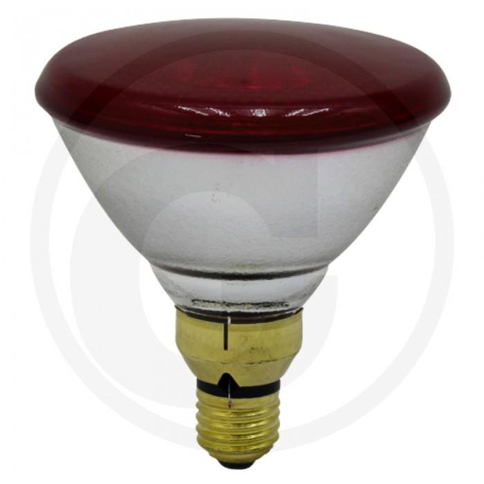 Energiją taupanti Infraraudonųjų spindulių lempa, raudona 100 W